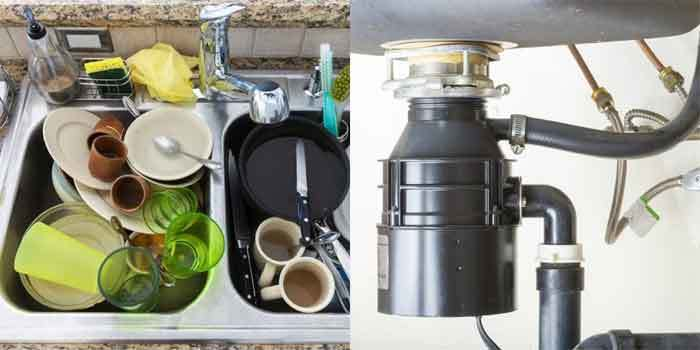 Clogged Kitchen Sink with Disposal