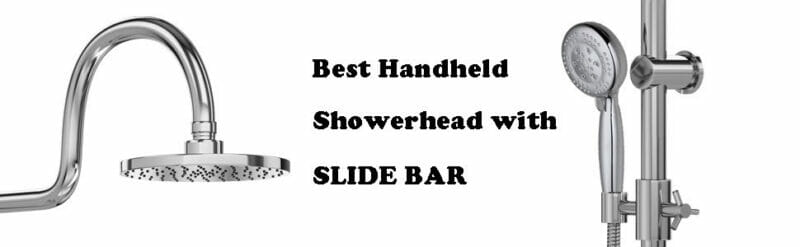 Best Handheld Shower Head with Slide Bar